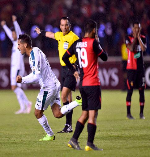 Melgar fue goleado por Palmeiras, pero se aferra a la Sudamericana