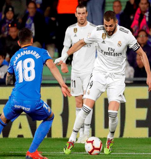 Verratti Desatasca A Un Psg Muy Directo: Real Madrid Vs Getafe
