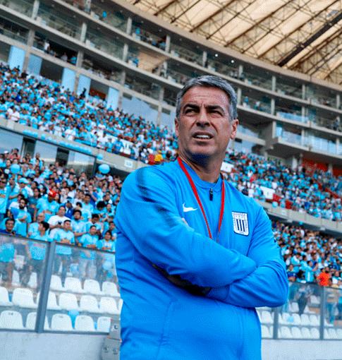 Pablo Bengoechea fue confirmado como DT de Alianza Lima