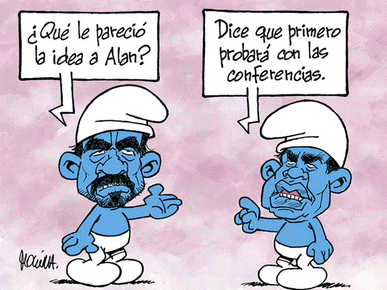 Caricatura de Molina del domingo 18 de noviembre del 2018