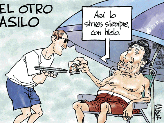 Caricatura de Molina del domingo 25 de noviembre del 2018