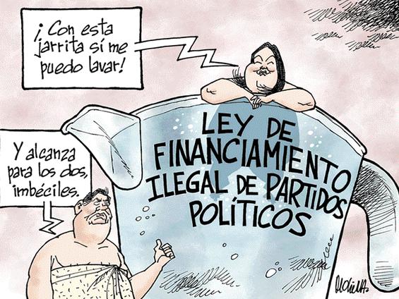 Caricatura de Molina del domingo 09 de diciembre del 2018
