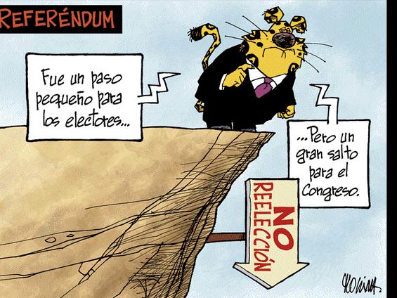 Caricatura de Molina del domingo 16 de diciembre del 2018
