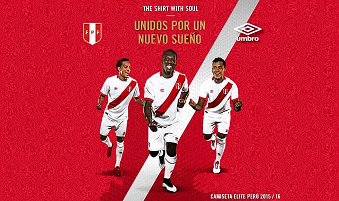 2afa29c51 Selección peruana  cinco características de la nueva camiseta para las  Eliminatorias de Rusia 2018