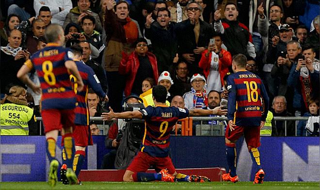 c7fe92b59fe Barcelona aplastó 4-0 al Real Madrid en el Bernabéu por Liga BBVA ...