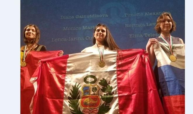 Peruana logra medalla de oro en Olimpiada Femenina de Matemática ... 734c5d443b1d4