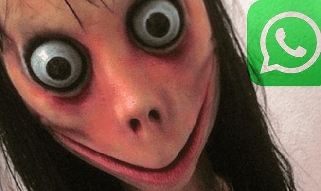 whatsapp momo conoce a la extraña criatura que aterra a miles de