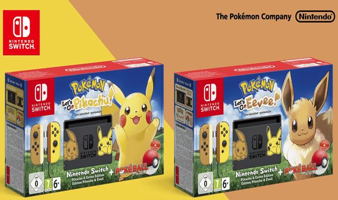 Nintendo Switch Esto Trae La Version Eevee Y Pikachu De La Consola