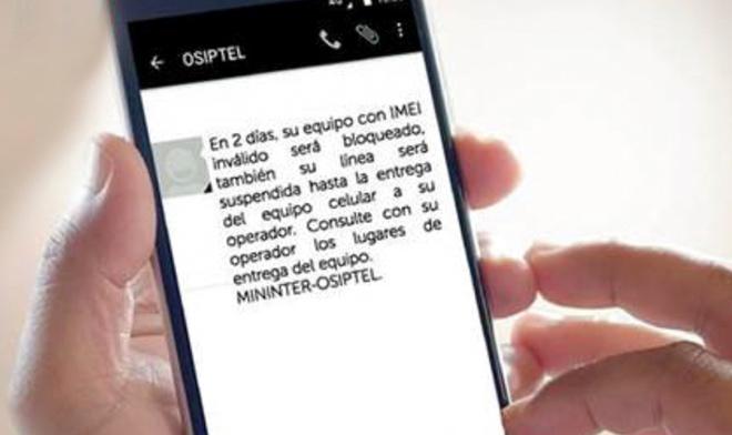 1501ab964b9cb Opsitel  Cómo saber si mi celular será bloqueado a través del IMEI ...