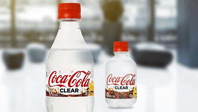 Coca-Cola Clear, la nueva gaseosa transparente de la compañía