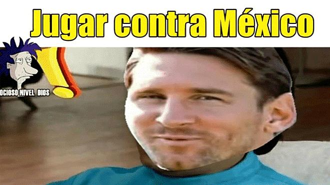 Facebook m xico vs argentina mejores memes del partido for Las ultimas noticias del espectaculo argentino
