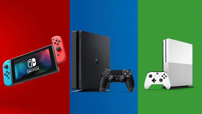 Nintendo Switch Playstation 4 Y Xbox One Tienes Una Consola Para