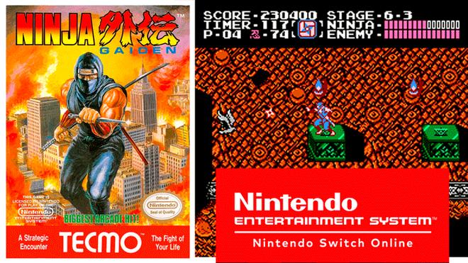 Nintendo Switch Online Ninja Gaiden Y Mas Juegos De Nes Llegan En