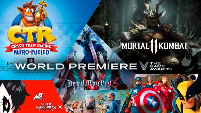 The Game Awards 2018 Todos Los Trailers De Los Nuevos Juegos