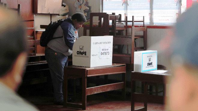 Elecciones 2018: flash electoral de Ipsos tras segunda vuelta en 15 regiones