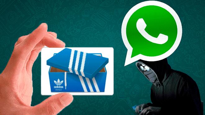 f7cea08d5 Dejes Tecnologia No Redes En El Aplicativo La Te Robo Sociales Estafa Que  WhatsappDescubre Adidas Está ...