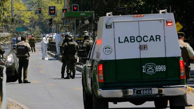 Atentado en chile en vivo explosi n en parada de bus en for Noticias de ultimo momento espectaculos