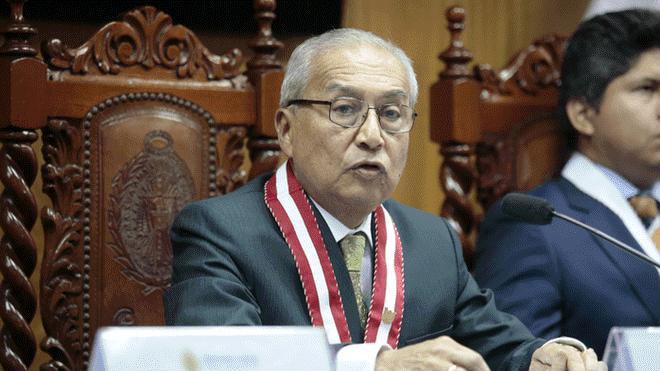 Pedro Chávarry convoca a Junta de Fiscales Supremos por suspensión de colegiatura