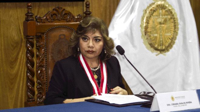 Zoraida Ávalos sustenta Nueva Ley Orgánica del MP este viernes