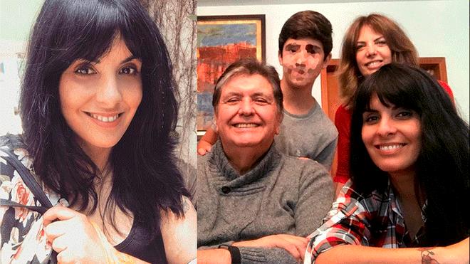 Hija de Alan García impacta al revelar su verdadera edad