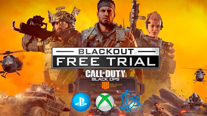Call Of Duty Black Ops 4 Blackout Como Descargar Free Trial Para