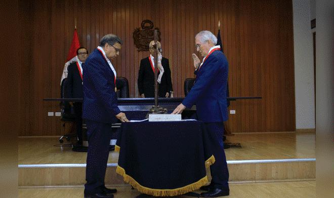 Juramentó nuevo presidente de Fiscalía Suprema del Fuero Militar Policial