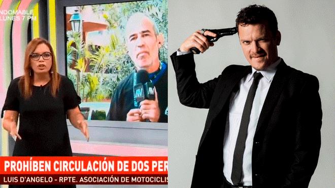 Óscar López Arias critica a Leiva y ella le pide que se lo diga a la cara