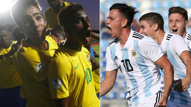 Brasil Vs Argentina Sub 20: Argentina Vs Brasil Sub 20 EN VIVO