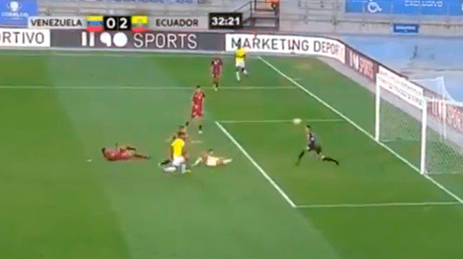 Venezuela vs Ecuador Sub 20: mira la genial pirueta de Leonardo Campana para el 2-0