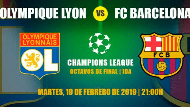 Barcelona – Lyon Wikipedia: Ver EN VIVO Barcelona Vs Lyon EN DIRECTO ONLINE Vía FOX