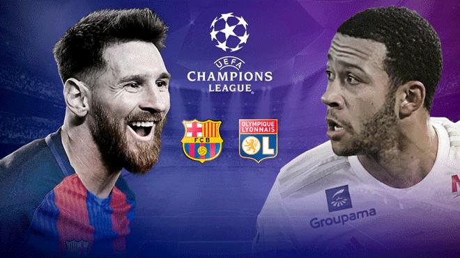 Barcelona Vs Lyon EN VIVO EN DIRECTO Vía Fox Sports