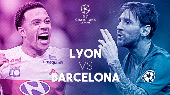 Barcelona – Lyon Wikipedia: Ver ROJA DIRECTA Barcelona Vs Lyon EN VIVO ONLINE Por