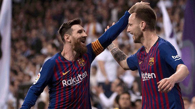 Real Madrid vs Barcelona  Los azulgranas ganan 1-0 a madridistas con gol de  Ivan Rakitic por La Liga Santander 2019  8b0e22ccd22