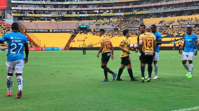 ¡Golpe en Guayaquil! Barcelona SC cayó 2-1 ante la U. Católica