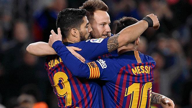 Barcelona Vs Lyon: Con Doblete De Messi, Barca Golea 5-1 Y