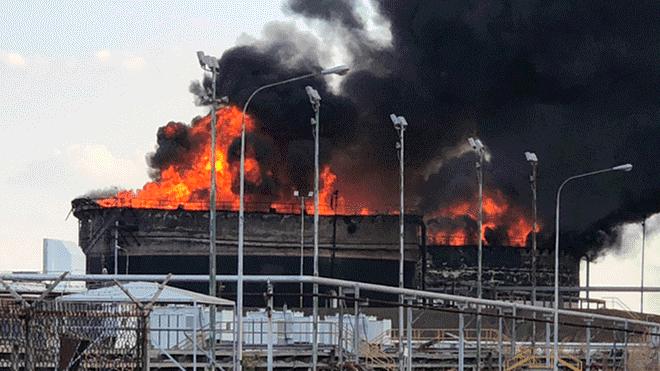 Incendio en PDVSA