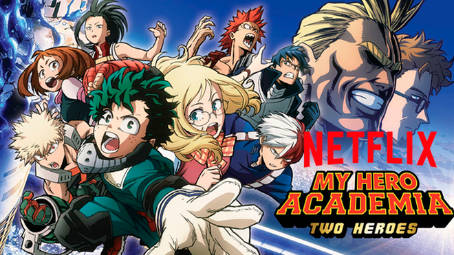 "Película de ""My Hero Academia"" llegará a Netflix en Abril"
