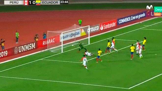 Peru vs ecuador live score