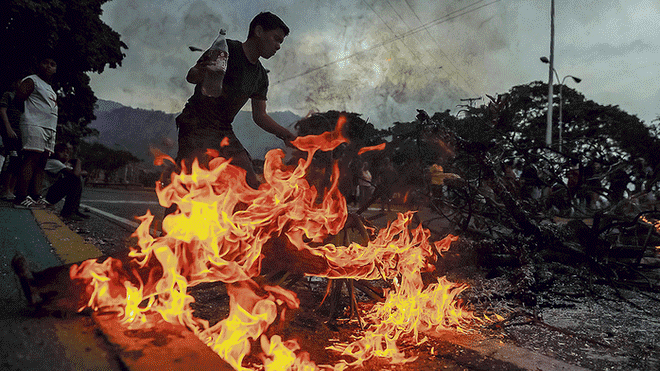 caos venezuela