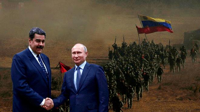 Presencia militar de Rusia en Venezuela