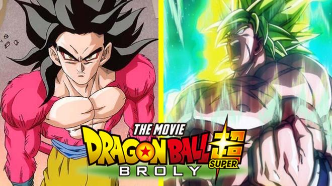 Dragon Ball Super Broly Design By Goku Super Saiyajin 4 Ssj4