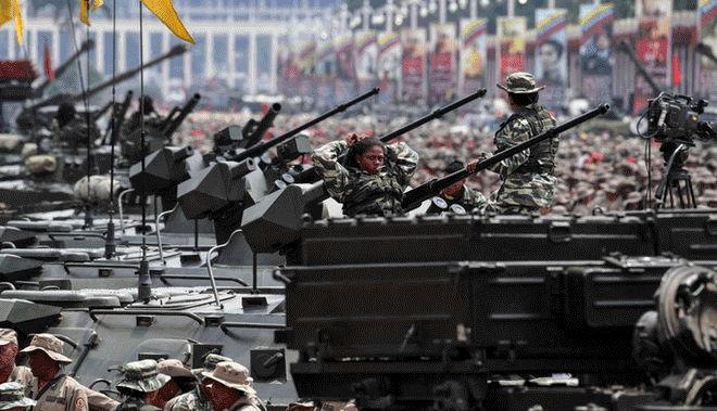 militares chavistas