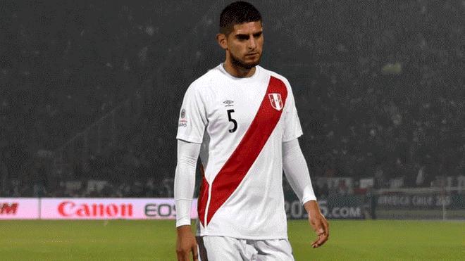 Carlos Zambrano se lesionó y pone en riesgo su presencia en la Copa América