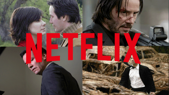 Netflix movies by Keanu Reeves: Perhaps forever, John Wick