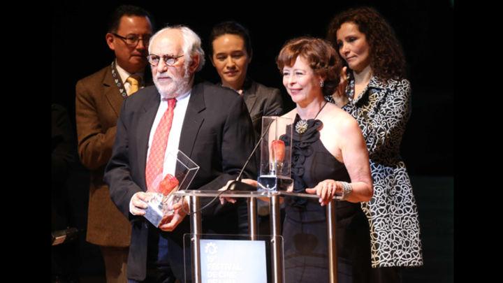 Premio. Ripstein y Garcíadiego en merecido tributo