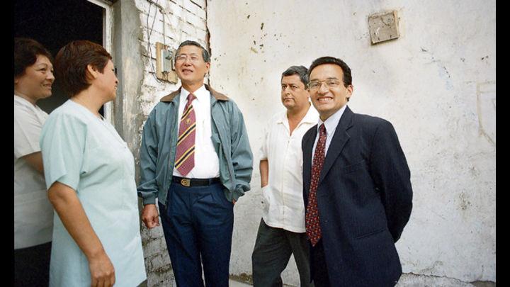 Mandato. Alberto Fujimori y su ministro de Salud en 1999, Alejandro Aguinaga: esterilizaciones fueron política de Estado