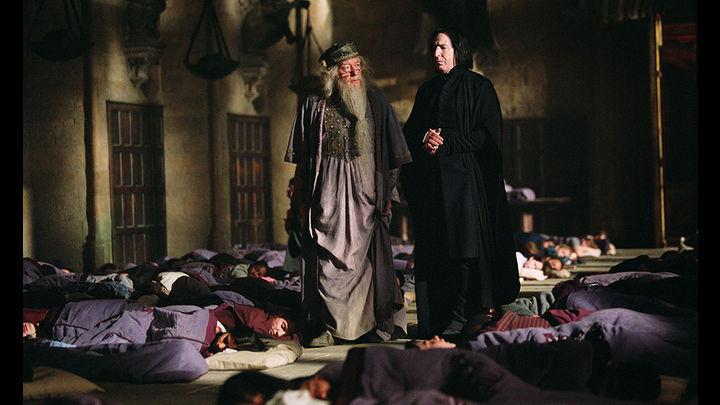 Al principio temido Rickman, como el misterioso profesor Snape, terminó siendo amado los por fanáticos de la saga Harry Potter. Fotos: Agencias La República- Facebook Alan Rickman