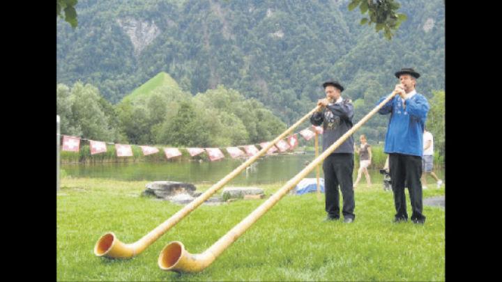 Dúo. Impresionantes instrumentos de origen suizo