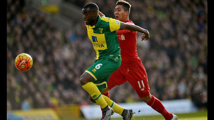 Liverpool visitó al Norwich este sábado. Foto: AP