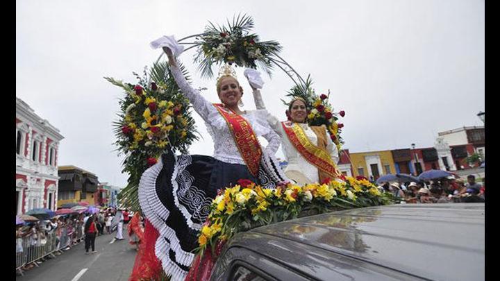 Galantería, coquetería y estampa en el corso por el 56° Concurso Nacional de La Marinera. Foto: laindustria.pe